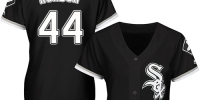 Women's Replica Majestic Bruce Rondon Black Alternate Jersey - #44 MLB Chicago White Sox Cool Base - Администрация Мазановского района