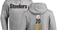 NFL Nike Pittsburgh Steelers #34 Cameron Sutton Ash Backer Pullover Hoodie - Администрация Мазановского района